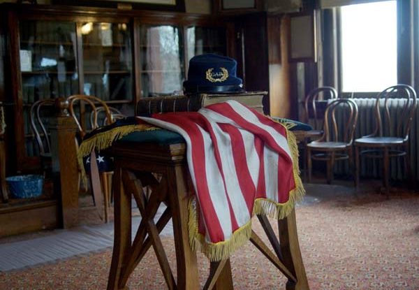 The Capt. Thomas Espy Post No. 153 of the Grand Army of the Republic (GAR), at Andrew Carnegie Free Library & Music Hall Civil War