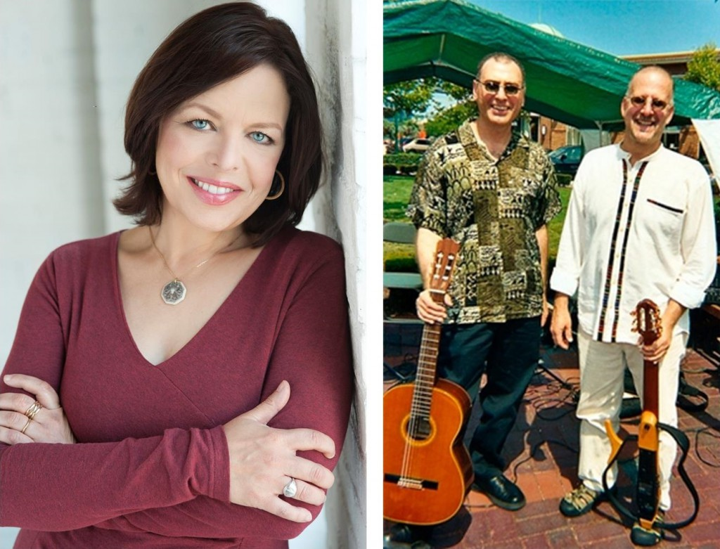 Ferla-Marcinizyn Guitar Duo, with Contralto Daphne Alderson, Monday March 31 at 7:30