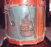 mid 19th century drum