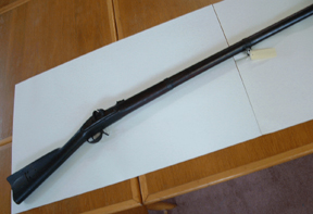rifle and bayonet