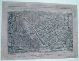 sketch of camp humphreys