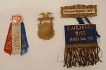 various medals right