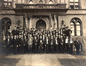 civil war espy post veterans andrew carnegie free library and music hall