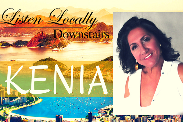 Listen Locally Downstairs with Kenia