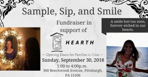 sample, sip,and smile fundraiser