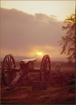 can at gettysburg
