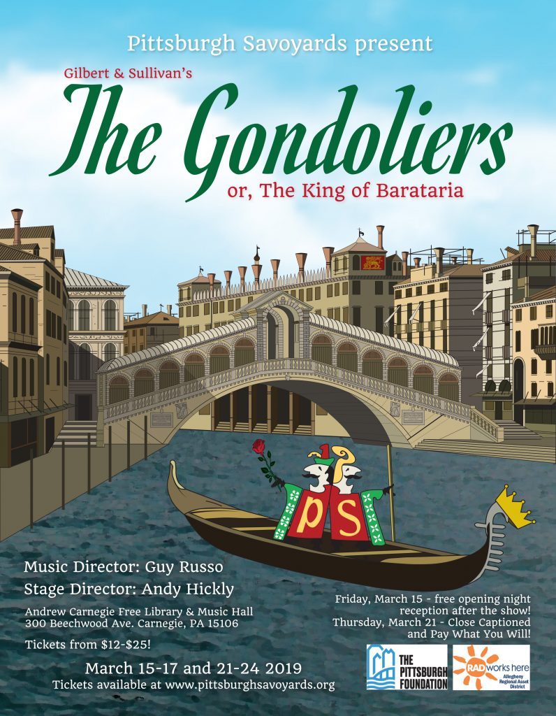 The Pittsburgh Savoyards present The Gondoliers