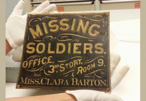 Clara Barton Missing Solders Office