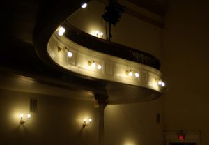 Music Hall Balcony Curve