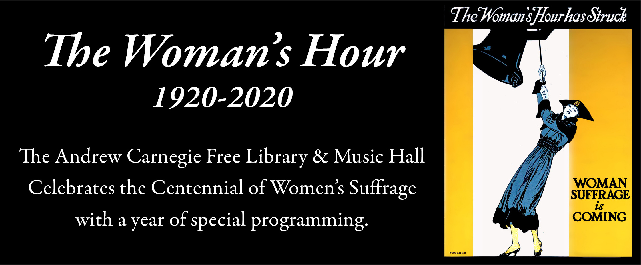 andrew carnegie free library  music hall events