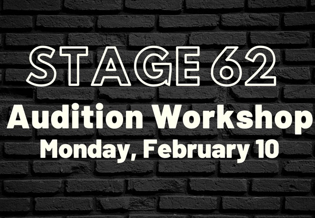 Stage 62 audition