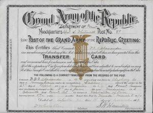 Alexander Transfer Card
