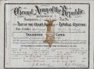 Briceland Transfer Card