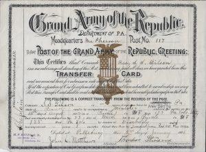 Gilson Transfer Card