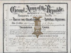 Harper Transfer Card