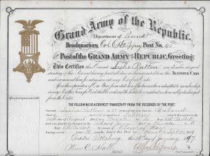 Patton Transfer Card