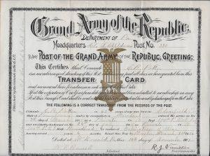 Potter Transfer Card