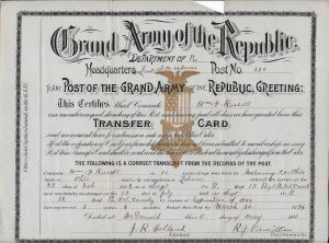 Russell Transfer Card