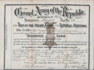 Snodgrass Transfer Card