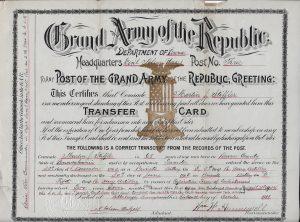 Stiffler Transfer Card