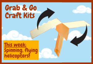 Craft kit helicopter