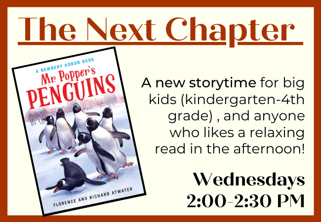The next chapter-pengins
