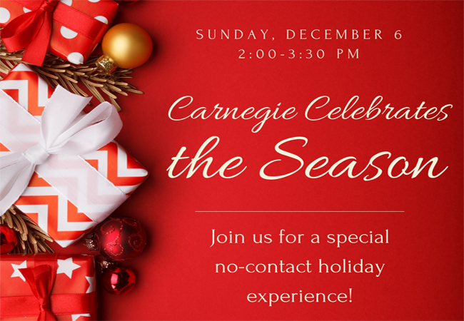 Carnegie celebrates the season