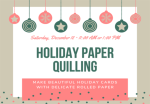 Holiday Paper Quilling