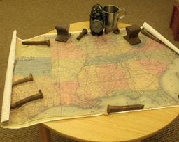 Railroad map
