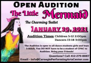 Mermaid auditions