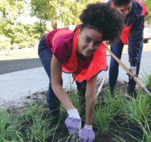Volunteer Gardener Teen